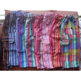 Pantalones Bali A Rayas Coloridos Para Niños Y Adultos