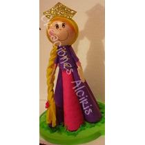 Centro De Mesa Cumpleaños Fiesta Rapunzel Disney