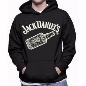 Moletom Canguru Bordado Jack Daniel
