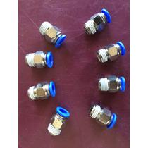 8 Conector Engate Rápido 10x1/4 Hidrogenio Vapor Gasolina Ar