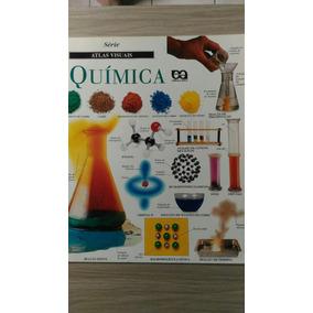 Livro Série Atlas Visuais Química Formato Grande 64 Páginas