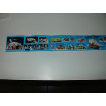 = Playmobil = Encarte Antex Tirinha Gigante Faroeste Castelo