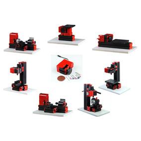 8 En 1 Mini Torno/ Fresadora/ Lijadora/ Sierra/ Perforacion