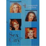 Sex And The City 4ª Temporada - Box Com 3 Dvds - Lacrado