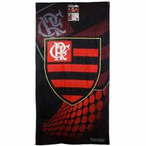 Toalha De Banho Veludo Algodão Flamengo Buttner