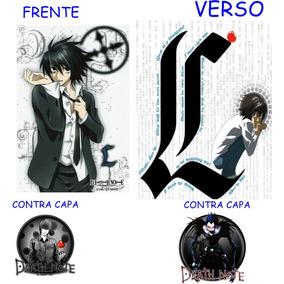 Caderno Death Note Novo- 10 Materias - 200 Folhas Mod 03