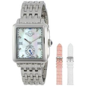 62d328bd5ac Krug Baumen Sportsmaster Madreperola Diamantes - Relógios De Pulso ...
