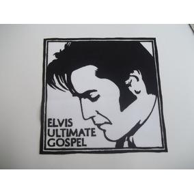 Elvis Ultimate Gospel Patche Costurar Roupa Jaqueta