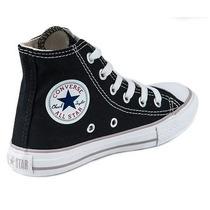 Converse All Star Bota Negra Niños Del 27 Al 34