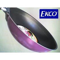 Sartén Wok ( Ekco ) Original, Grande 28 Cm 3 Colores Nuevos