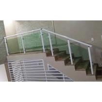 Guarda Corpo Em Vidro Temperado (p/ Escada, Parapeito, Etc.)