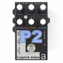 Amt P2 Pedal Legend Amps Guitar Preamp Peavey 5150 Emulate 2