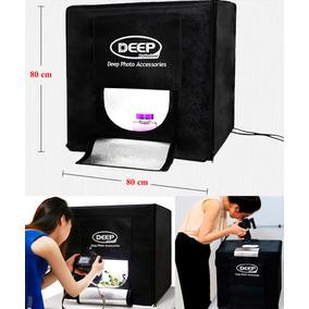 Caja De Luz Led Para Foto De Producto 80x80 Cm Deep Profess.