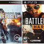 Battlefield 4 + Battlefield Hardline + 5 Dlc Digital Ps3