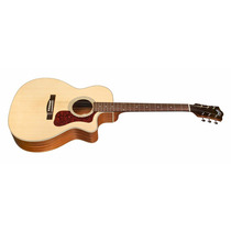 Guild Om240ce Guitarra Electroacústica Con Funda - Oddity