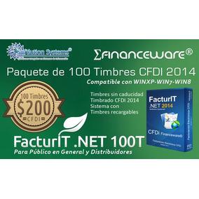 100 Timbres Folios Cfdi Para Facturación Electrónica Omm