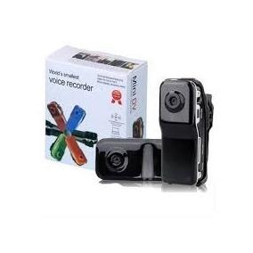 Filmadora Mini Dv Dvr Webcam Camera Video Espiã Capacete