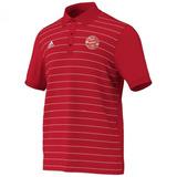 Camisa Pólo Bayern De Munique Alemanha adidas Vermelha