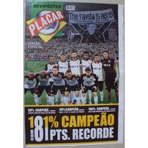 Revista Placar 1409 C 2015 Corinthians Campeão Brasileiro