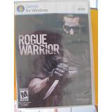 Jogo Pc Game Rogue Warrior - Original - Novo