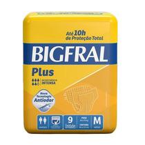 Fralda Bigfral Plus M - C/ 144 Und + Barato Da Internet