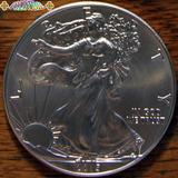 2015 Libertad Caminando Eeuu Moneda Plata Ley 999 Onza Troya