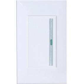 Placas Y Apagadores Contactos De Lujo Color Blanco