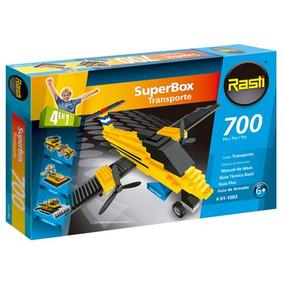 Rasti Superbox Transporte 700 Piezas 4 Modelos Para Armar