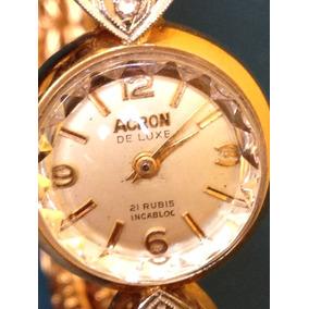 Extraordinaria Reloj-joya Oro 18kts Brillantes