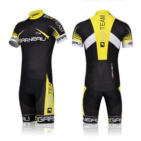 Conjunto Jersey Ciclismo Bermuda Camiseta Roupa Bike Pedal