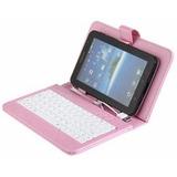 Capa Case De Couro Com Teclado Usb Tablet 8 Polegadas