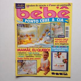 Revista Agulha De Ouro Bebê Ponto Cruz Jogos De Bebê N°12