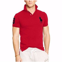 Kit 05 Camisa Gola Polo Ralph Lauren Importada Em Oferta