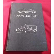 Librosdelrecuerdo Manual Para Constructores Monterrey 1963