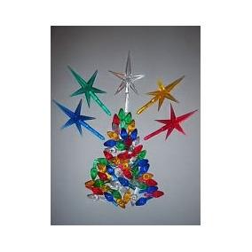 Cerámica Del Árbol De Navidad De Las Luces De La Torcedura