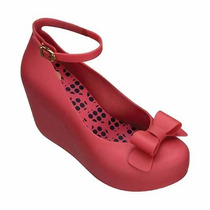 Toffee Apple Ii Zapato Zapatilla Dama Rojo Mel By Melissa