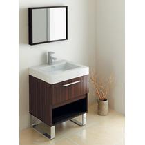 Mueble Baño Gabinete Lavabo Espejo Madera Gb 2094 29 Gravita
