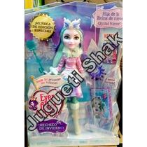 Crystal Winter Hechizo De Invierno, Ever After High Nueva!!!