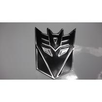 Emblema Laminado Decepticons Transformers 4 Piezas Envio Gr