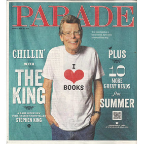 Jornal Importado Parade: Stephen King / Michael Caine !!