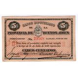 Barese2013 Billete 5 Centavos Banco Hipotecario