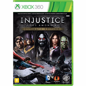 Injustice Gods Among Us Ultimate Edition - Xbox 360 - Novo