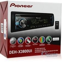 Reproductor Pioneer Deh- X3800ui Mp3 Usb Mixtrax Originales