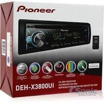 Reproductor Pioneer Deh - X3800ui Mp3 Usb Mixtrax Originales