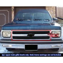 Blazer S10 Chevrolet Parrilla Billet 1991 1992 Importada