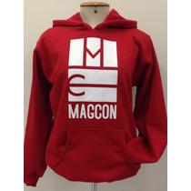 Blusa Moletom Magcon Mc Logo Cameron Dallas Canguru Unissex