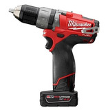 Taladro Atornillador Percutor Milwaukee 12v Litio Fuel 2404