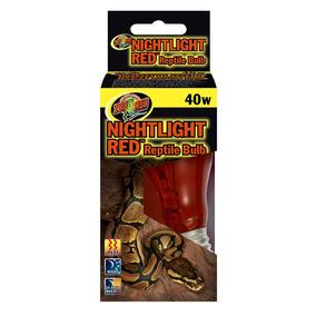Lámpara Nocturna Incandescente Roja Para Reptiles +kota