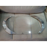 Bandeja Retangular Vidro E Prata - Shefield Plate