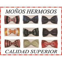 Corbatas Moños Hermosos Y Modernos Varios Colores Y Diseños